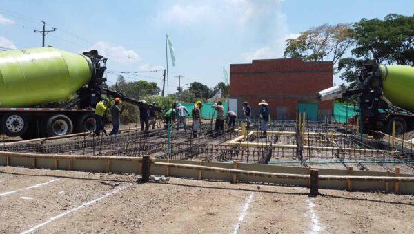 2020 Feb 17 Fundición placa Casas 403 a 406
